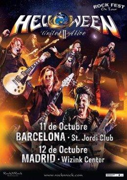 Helloween tornarà a Barcelona i Madrid l'octubre del 2020