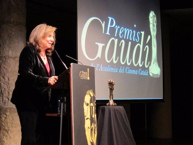 La presidenta de  la Acadèmia del Cinema Català, Isona Passola.