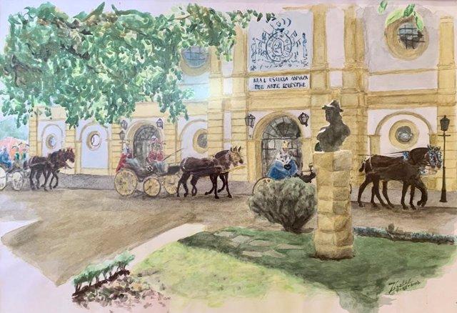 Cartel para la gala de los Reyes Magos de Cádiz