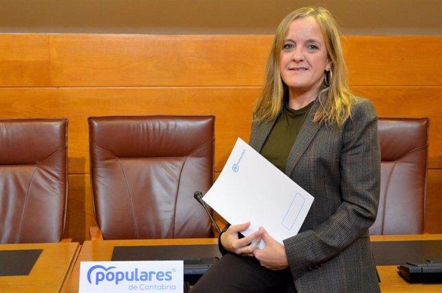 La diputada del PP en el Parlamento de Cantabria Isabel Urrutia