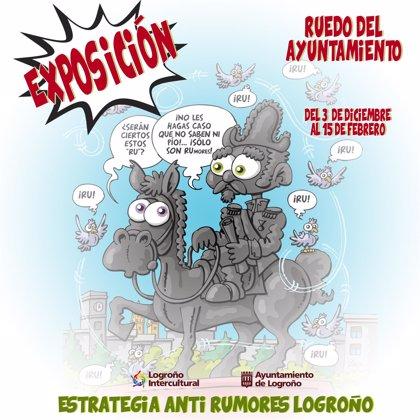 Exposición de la Estrategia Anti Rumores de Logroño en el Ayuntamiento hasta el 15 de febrero