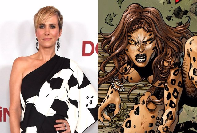 Kristen Wiig es Cheetah en Wonder Woman 1984