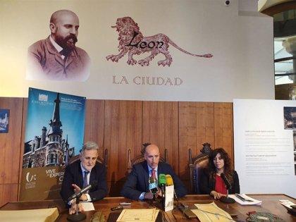 El Ayuntamiento de León y el Museo Casa Botines ponen en marcha la ruta urbana sobre el modernismo