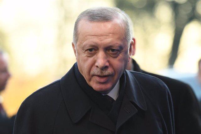 Turquía.- Erdogan reclama de nuevo a sus socios de la OTAN que apoyen la lucha d