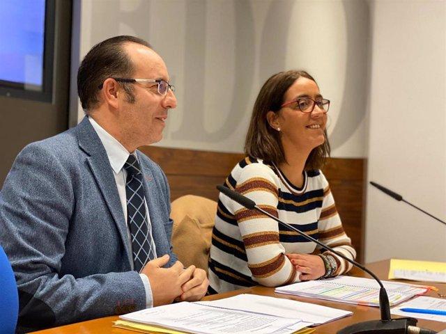 Mario Arias y Covadonga Díaz.
