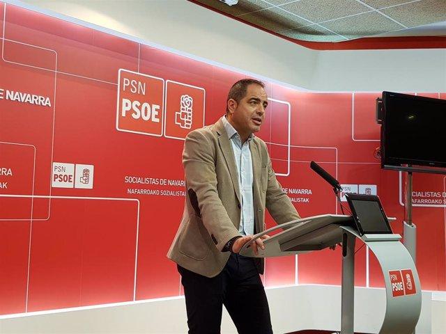 Ramón Alzórriz, secretario de Organización del PSN.