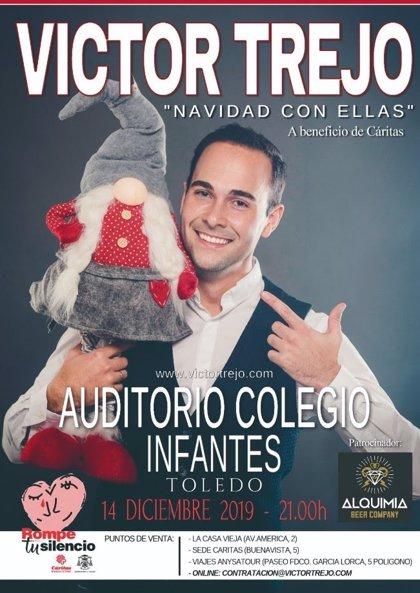 """Víctor Trejo ofrece el día 14 en Toledo el concierto solidario 'Navidad con ellas' con """"grandes"""" voces y colaboraciones"""