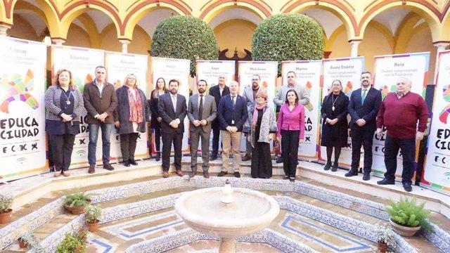 Distinguidos con los Premios Educaciudad diez municipio andaluces por difundir buenas prácticas educativas