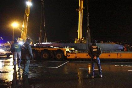 Prisión provisional para el sexto detenido por su relación con el 'narcosubmarino' hundido en Cangas