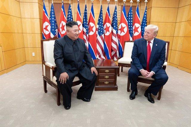 Corea.- El régimen norcoreano amenaza con represalias a Trump por las burlas a K