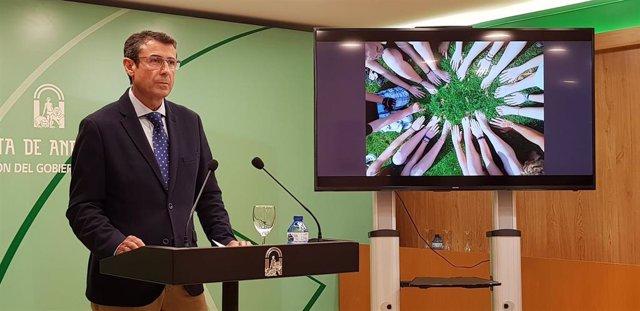 El delegado de Agricultura de la Junta de Andalucía en Málaga, Fernando Fernández Tapia-Ruano