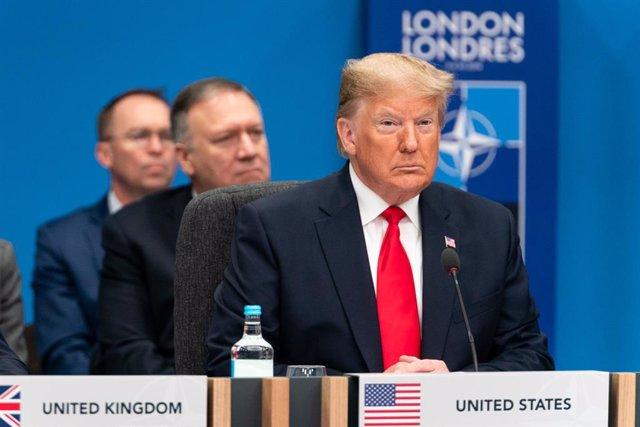 """EEUU.- Trump pide un 'impeachment' rápido en la Cámara Baja con juicio """"justo"""" e"""