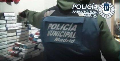 Requisan 15.000 artículos falsificados en dos domicilios de Lavapiés