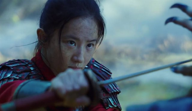 Imagen del remake de Mulan
