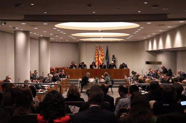 Ple de la Diputació de Barcelona de març