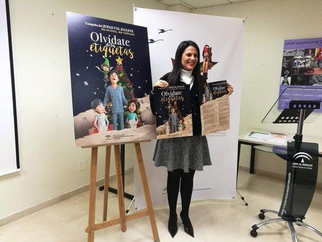 María Encarnación Santiago presenta la campaña del juguete no sexista y no violento de 2019 dedicada al videojuego
