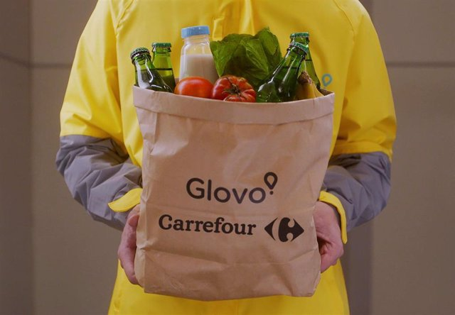 Carrefour y Glovo