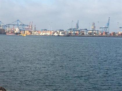 """El Puerto de Las Palmas asegura que las operaciones marítimas y portuarias se desarrollan """"correctamente"""""""
