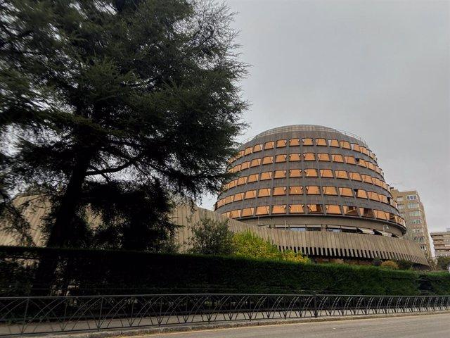 Façana de l'edifici del Tribunal Constitucional d'Espanya, aMadrid a 29 de noviembre del 2019.