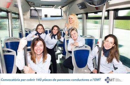 La convocatoria para 140 plazas de conductor de la EMT Palma se cierra el 13 de diciembre