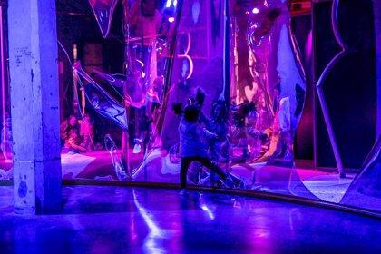 'Teatro sin fin', un nuevo espacio infantil para el juego en Matadero diseñado por la artista Leonor Serrano Rivas