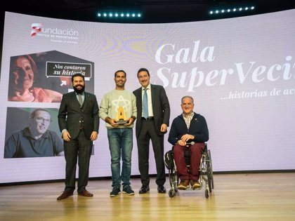 Ayuntamiento de Caspe y una mujer de Madrid, Premios Supervecinos por su ayuda a personas con movilidad reducida