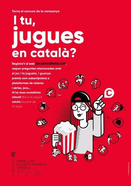 El Govern organiza un concurso para promover la oferta de juegos y juguetes en catalán