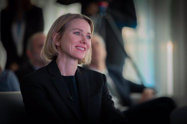 L'actriu i ambaixadora de bona voluntat nomenada per ONUSIDA, Naomi Watts, ha estat convidada d'honor en la inauguració d'una nova clínica de reproducció assistida d'Eugin, a Barcelona (Catalunya, Espanya), a 5 de desembre del 2019.