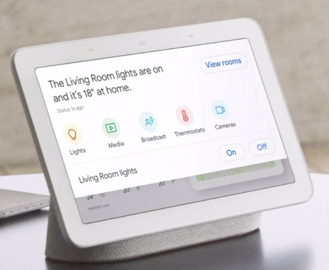 Dispositiu intel·ligent Nest Hub