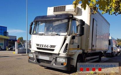 Inmovilizan un camión en Maçanet de la Selva (Girona) por llevar 4.000 kilos de exceso