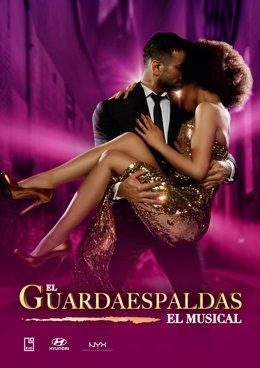 El cartel del musical 'El guardaespaldas'