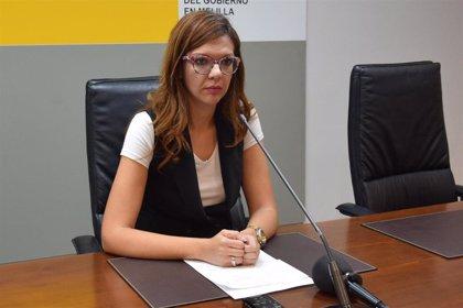 """La delegada del Gobierno asegura que """"Melilla no va a perder dinero de agua, frontera y menores"""" por no haber PGE"""