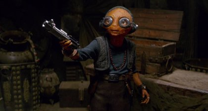Primera imagen de Maz Kanata en Star Wars: El ascenso de Skywalker