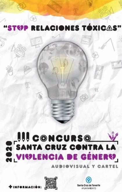 Convocado el concurso 'Santa Cruz contra la Violencia de Género' con el lema 'Stop relaciones tóxicas'