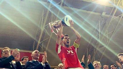 El Real Murcia, campeón de la Copa Federación tras imponerse al Tudelano en los penaltis