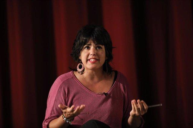 La coordinadora de Podemos Andalucía, Teresa Rodríguez, en una foto de archivo