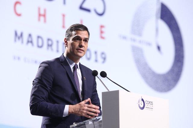 Foto de archivo del presidente en funciones, Pedro Sánchez