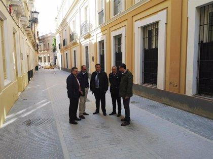 Finaliza la obra de San Vicente en Sevilla, entre Cardenal Cisneros y Alfonso XII, con accesibilidad y plataforma única