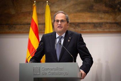 Torra evoca Heribert Barrera i Lluís Maria Xirinacs el dia de la Constitució