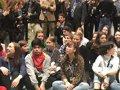 Thunberg se une en Madrid a los Jóvenes por el Clima y se reúne con la activista india de 8 años Kangujam