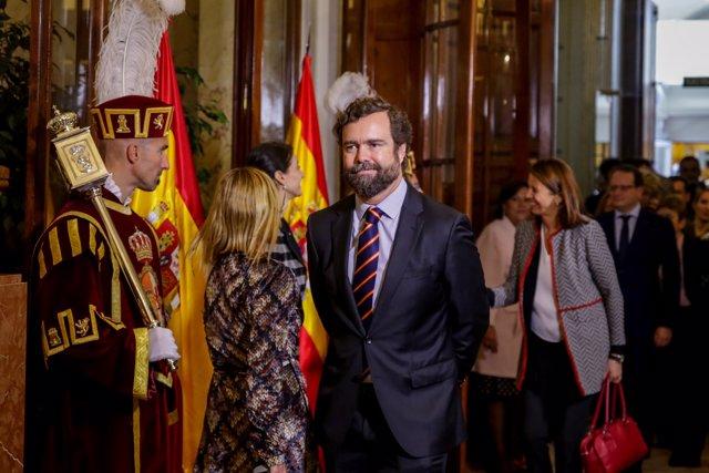 Espinosa de los Monteros asiste a los actos del Día de la Constitución en el Congreso
