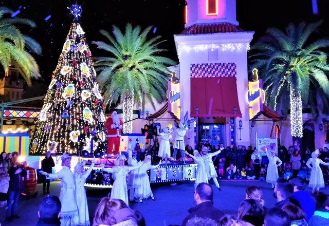 Navidad en Parque Warner Madrid