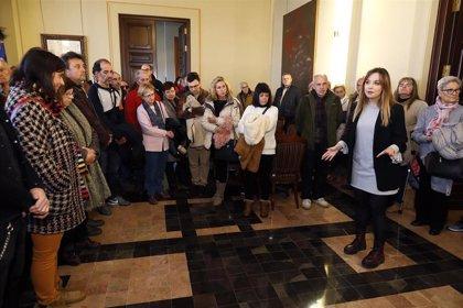 """Maru Díaz cree que es """"fundamental"""" que la ciudadanía sienta que la sede del Gobierno de Aragón es """"su casa"""""""