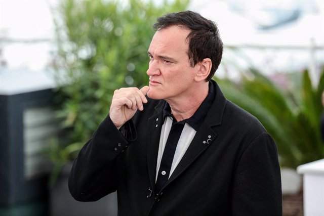 "22 May 2019, France, Cannes: US director Quentin Tarantino attends a the ""Once Upon a Time In Hollywood"" film photocall at the Palais des Festivals during the 72nd Cannes International Film Festival. Photo: -/Imagespace via ZUMA Wire/dpa"