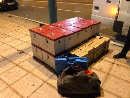 Cinco detenidos, uno de ellos menor de edad, por varios robos con fuerza en Zaragoza