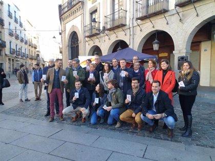 """NNGG de Segovia propugna valores como la """"libertad"""", el """"pluralismo político"""", la """"justicia"""" o la """"igualdad"""""""