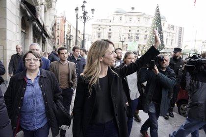 'Libres e Iguales' celebra la Constitución en Bilbao arropada por unas 200 personas fuertemente escoltadas