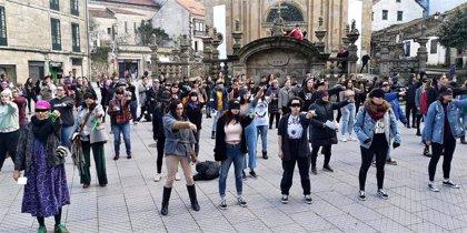 Galicia se suma a la performance 'Un violador en tu camino' impulsada desde Chile