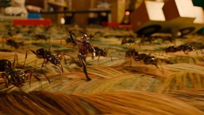 Endgame: Ant-Man tenía un terrible ejército de insectos gigantes en la batalla contra Thanos