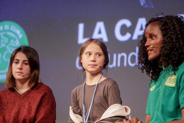 """COP25.- Greta Thunberg: """"Los líderes nos están traicionando y no vamos a dejar q"""